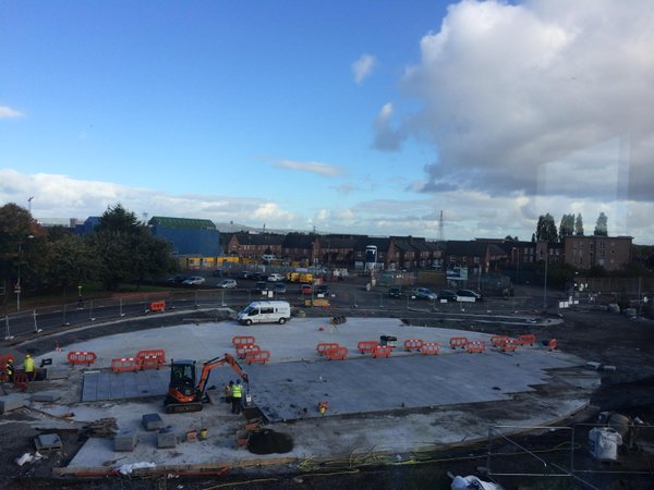 CS Lewis Square part of Connswater Regeneration Scheme